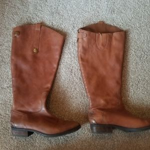 Sam Edelman Penny Brown Wide Boots